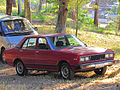 Datsun 160J Sedan 1981 (10682851315).jpg