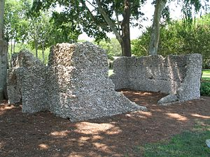 Daufuskie Island - Remains of tabby slave quarters on Daufuskie Island