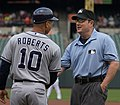Dave Roberts and Marty Foster in 2013 (8742562062).jpg