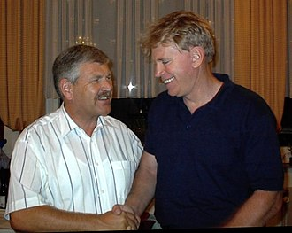 David Duke -  David Duke (right) and Udo Voigt (left), the former leader of the National Democratic Party of Germany (NPD)