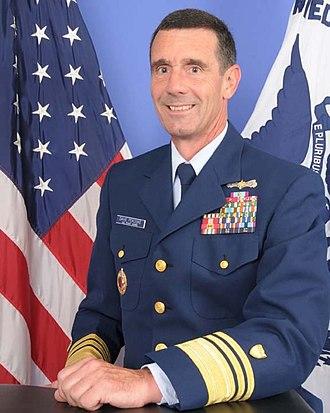 David Pekoske - 26th Vice-Commandant of the United States Coast Guard