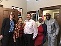 Deb Haaland with Karamo Brown and Family Equality in 2019.jpg