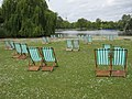 Deckchairs and Boating Lake - geograph.org.uk - 1298792.jpg