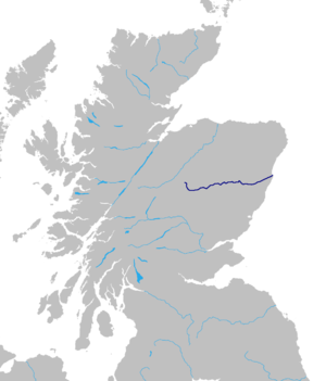 Dee River (Scotland) Route.png
