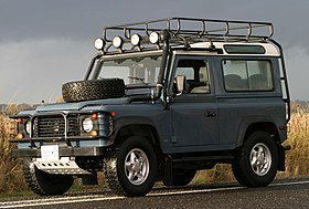 Land Rover Defender Wikipedia