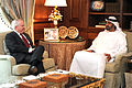 Defense.gov News Photo 110426-D-XH843-002 - Secretary of Defense Robert M. Gates meets with the Crown Prince of the United Arab Emirates Sheikh Mohamed Bin Zayed Al Nahyan in McLean Va. on.jpg