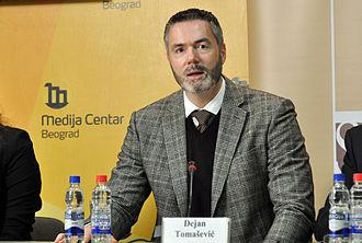 Dejan Tomašević - Image: Dejan Tomašević