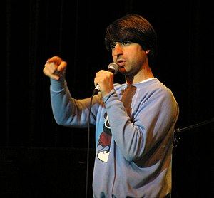 English: Demetri Martin at Northeastern University
