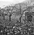 Demonstraties in Brussel tegen de Eenheidswet, stakers trekken door Luik, Bestanddeelnr 911-9364.jpg