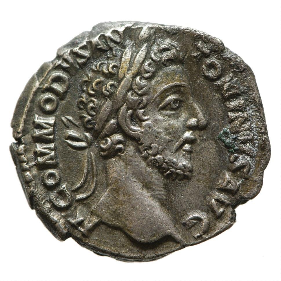 Denarius of Commodus (YORYM 2000 4292) obverse