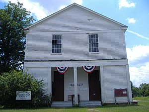 National Register of Historic Places listings in Madison County, Tennessee - Image: Denmark Presbyterian Church 1