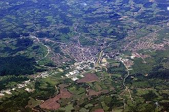 Derventa - Aerial view of Derventa