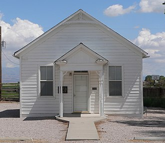 National Register of Historic Places listings in Millard County, Utah - Image: Deseret Relief Society Hall from W 1