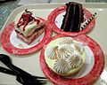 Desserts from Sunshine Seasons - Strawberry Shortcake, Chocolate Mousse Cake and Key Lime Pie.jpg
