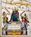 Detaljbild från boksida, karta ur Wr.110:5 (Turc. Imper. Asia Geographie (I.34.17) - Skoklosters slott - 13712.tif