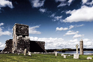 Devenish Island - Monastic site on Devenish Island