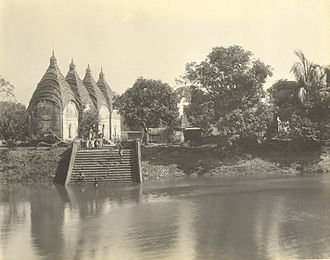 History of Dhaka - Dhakeshwari Temple in 1904