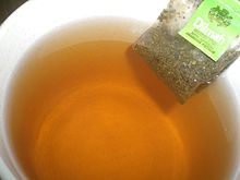 Dilmah Green Tea Jasmine Petals MJF Group tea cup water.JPG