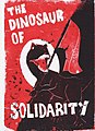 Dinosaur of Solidarity Lino Print.jpg