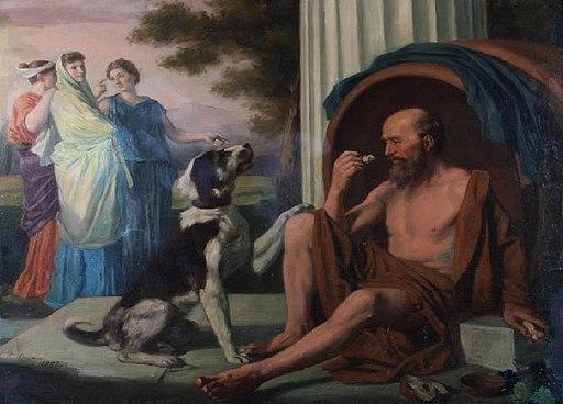 Diogène par pugons