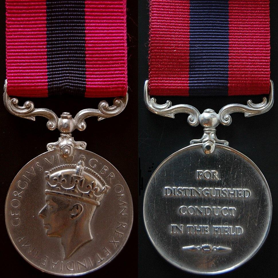 Distinguished Conduct Medal - George VI