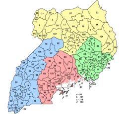 Districts of Uganda 2018.png