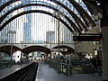 Docklands Light Railway station at Canary Wharf - geograph.org.uk - 88156.jpg