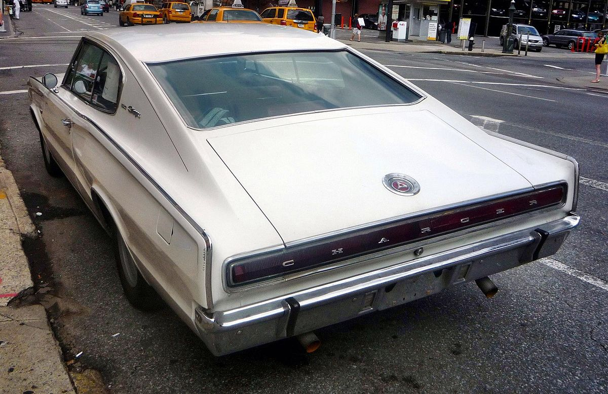 File Dodge Charger 1966 V8 383 Heck Jpg Wikimedia Commons