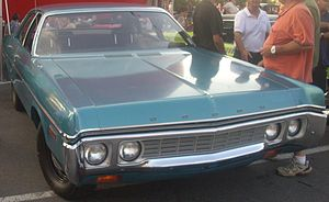 Dodge Polara - 1972 Dodge Polara 4-Door Sedan