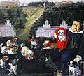Dogs Belonging to the Medici Family in the Boboli Gardens by Tiberio Di Tito.jpg
