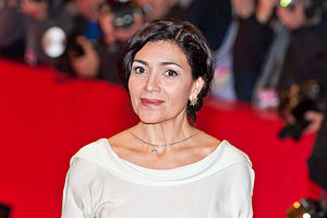Dolores Heredia - Heredia at the premiere of Two Men in Town
