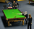 Dominic Dale, Jimmy White and Maike Kesseler at Snooker German Masters (DerHexer) 2013-01-30 01.jpg