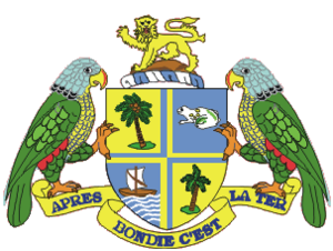 Camouflage passport - The arms of Dominica