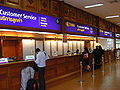 Don Mueang Airport domestic terminal - Thai Airways customer service counters.JPG
