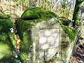Donndorf - Fantaisie Schlosspark - Jean Paul-Stein (01.11.2008) 01.jpg