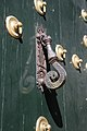 Door knocker main portal monastery El Escorial Spain.jpg