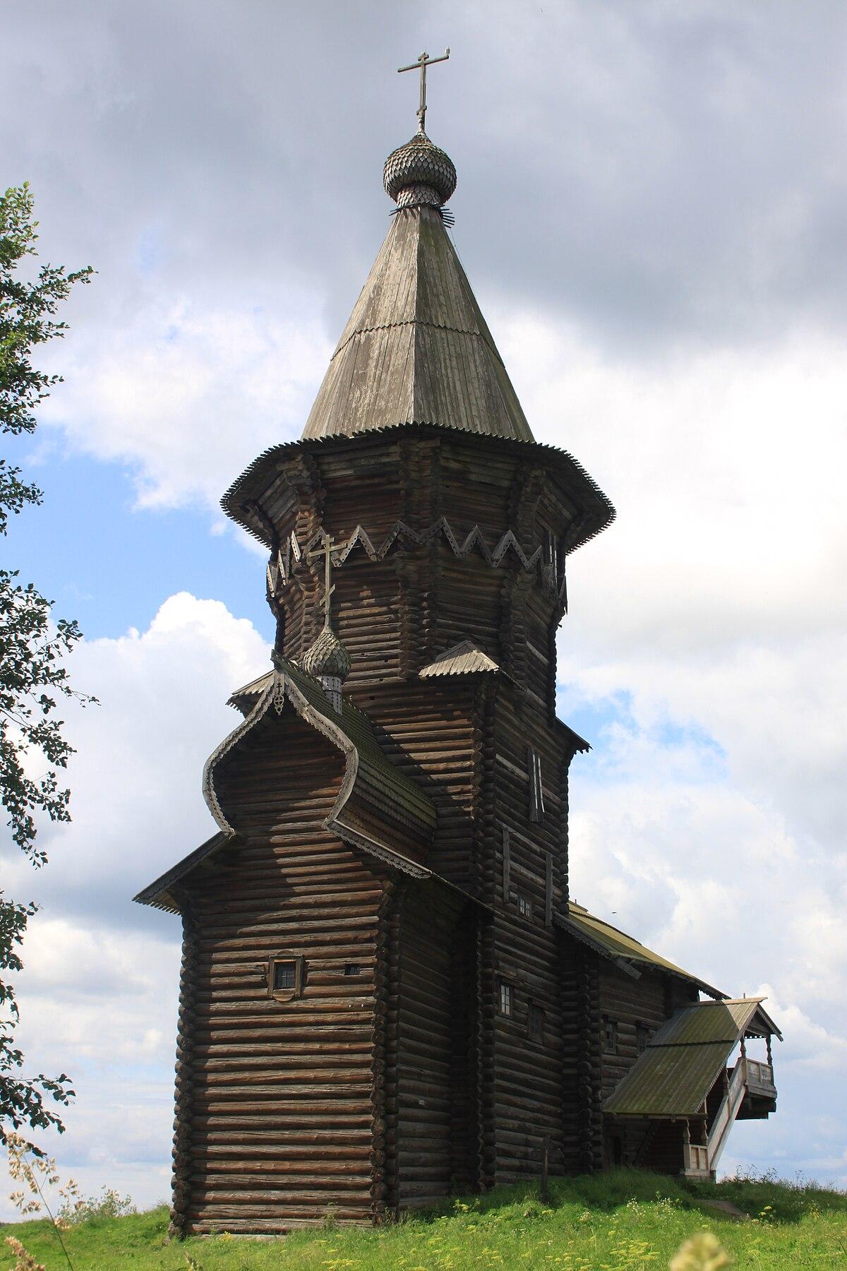 dormition church  kondopoga