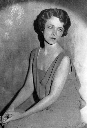 Dorothy Peterson - Dorothy Peterson in 1928, during the Broadway production of Dracula