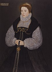 File:Dorothy Latimer, wife of Thomas Cecil by British artist, active between 1537 - 1599.jpg