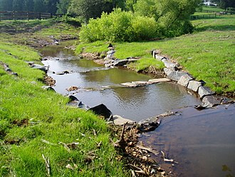 Stream restoration - Cross-vanes