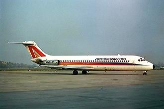 Aermediterranea - Image: Douglas DC 9 DIZF Aermediterranea