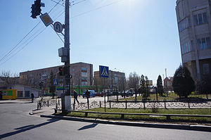 Boryspil - Image: Downtown Boryspil