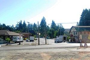 Cobble Hill, British Columbia - Center of Cobble Hill