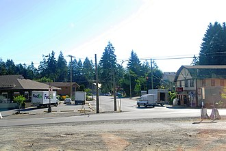 Cobble Hill, British Columbia - Center of Cobble Hill