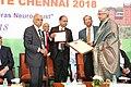 Dr. B. K. Misra receiving the Lifetime Achievement Award - 2018 by the Madras Neuro Trust.jpg
