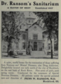"Dr. Ransom's Sanitarium (""American medical directory"", 1906 advert).png"