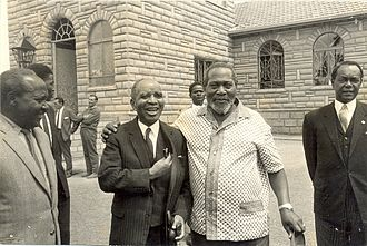 Hastings Banda - Dr. Banda with Jomo Kenyatta of Kenya