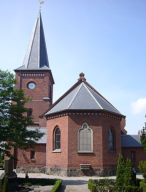 Dragør Church - Image: Dragoer Kirke Copenhagen apsis