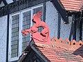 Dragon on India House Restaurant - geograph.org.uk - 839547.jpg