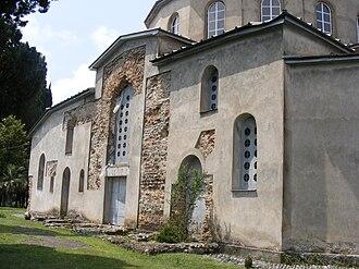 Dranda Cathedral - Image: Dranda Cathedral wall